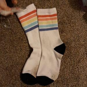 Victoria secret pink crew socks